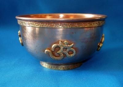 Large Copper Incense Holder for Resins