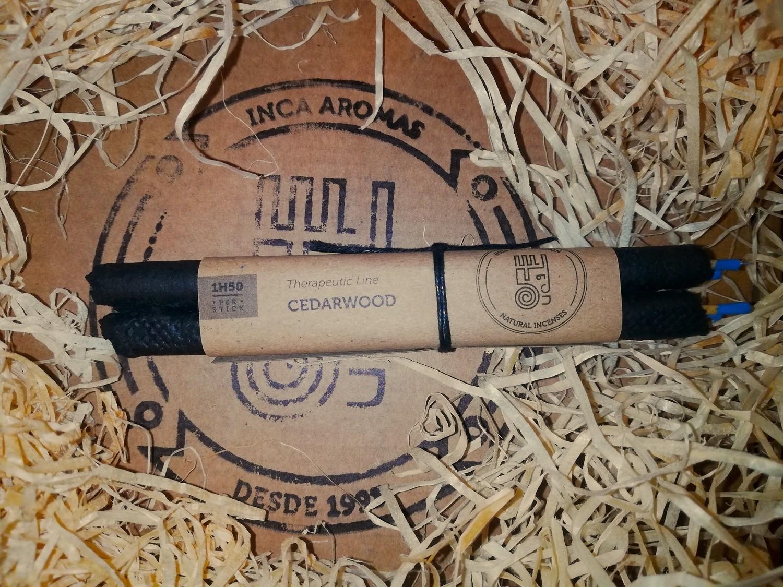 Incense Stick Cedar Wood Box 4 Pcs