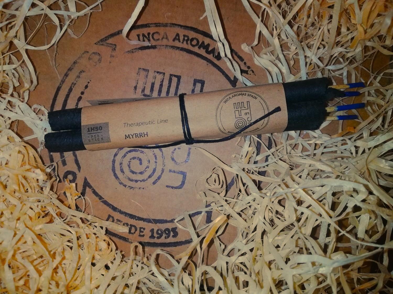 Incense in Stick Myrrh Box 4 Pcs