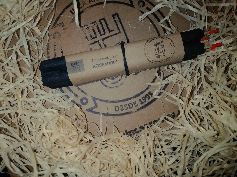 incenso naturale Rosmarino Box 4 Pz