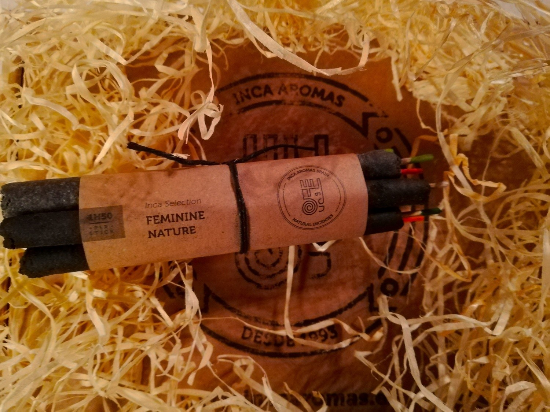 Natural Incense in Stick Feminine Nature Box 7 Pcs