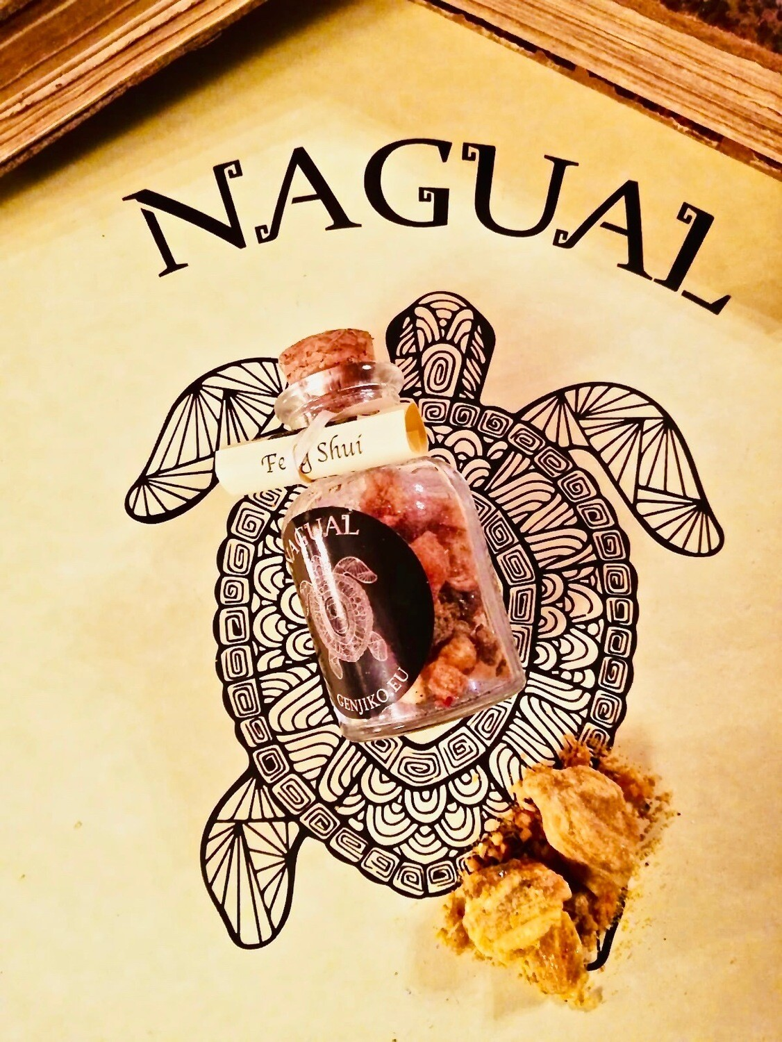 Incense in Feng Shui Resin - 1 Gr