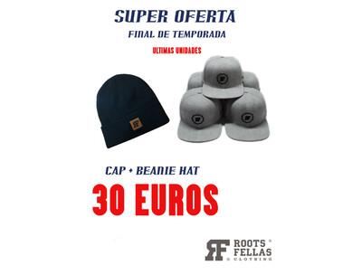 Pack Oferta Cap + Beanie