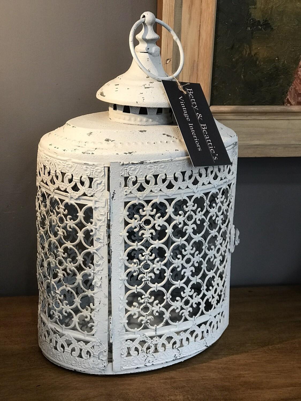 Large Moorish Oval Lantern