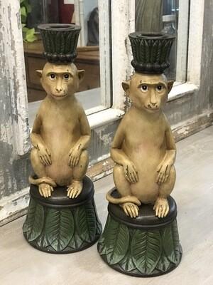 Monkey Candle Holder