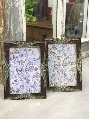 Lilac Fern Photo Frame