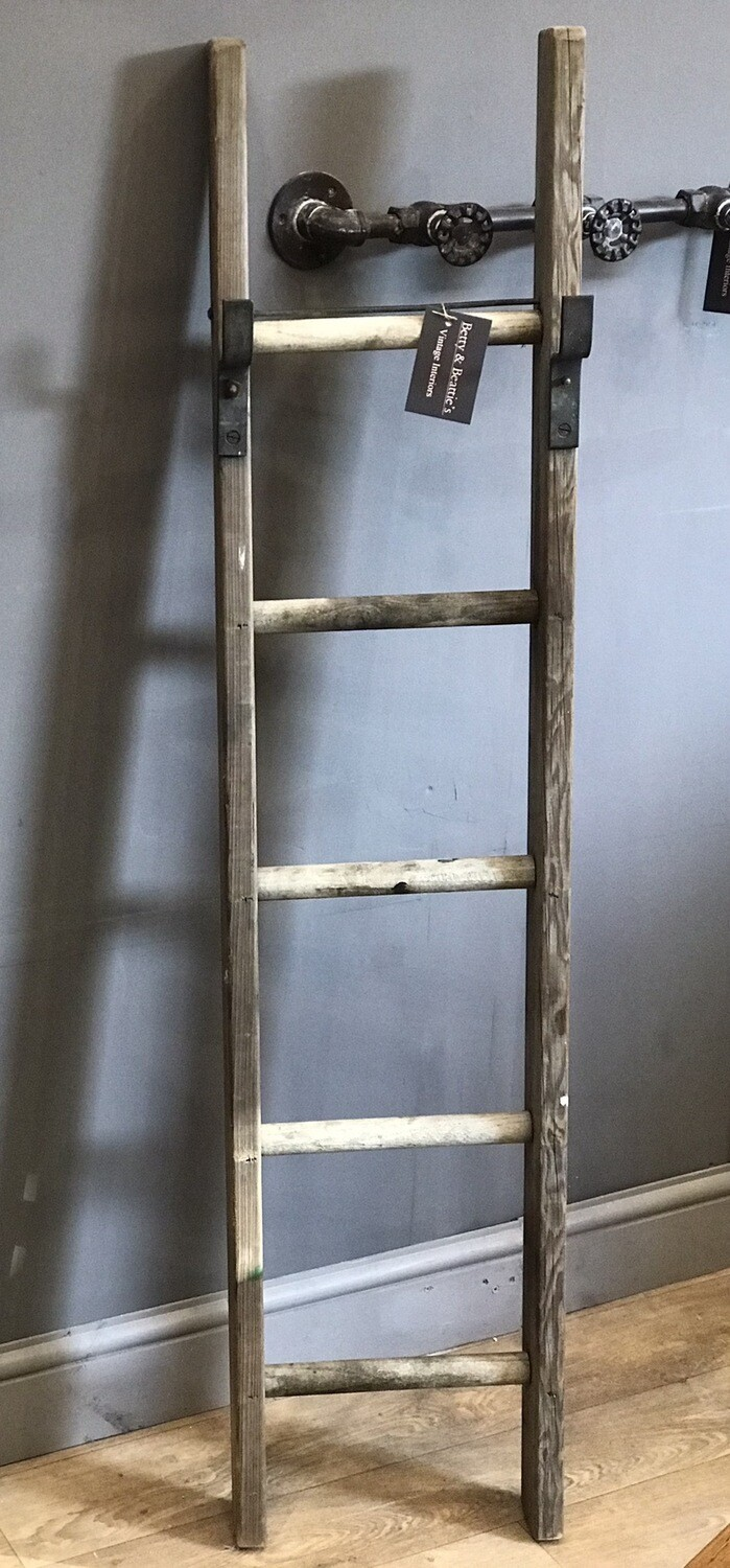 Vintage Wooden Ladder Section