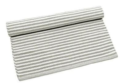 Stripe Rug Large - Grey