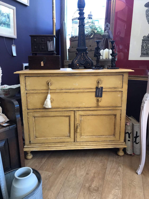 Vintage Painted Cupboard / Cabinet