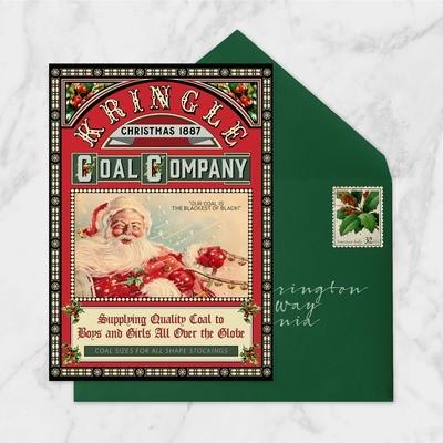 Kringle Coal Card