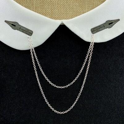Double Enamel Pin Chain