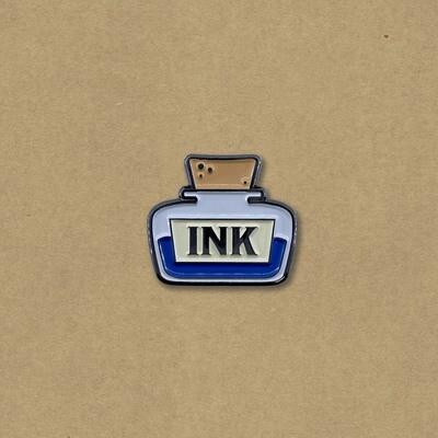 Ink Bottle Enamel Pin