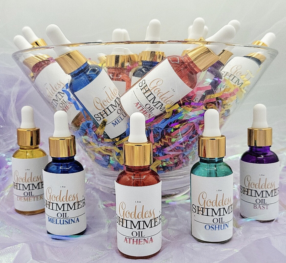 Goddess Shimmer Oil