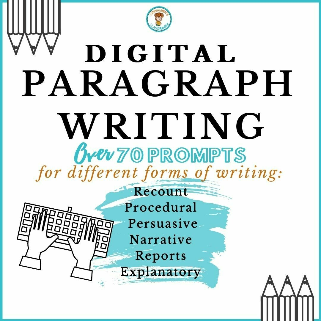 Paragraph Writing for Different Forms of Writing | Digital