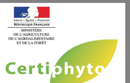 Certiphyto - Renouvellement (10 juin - Valdahon)