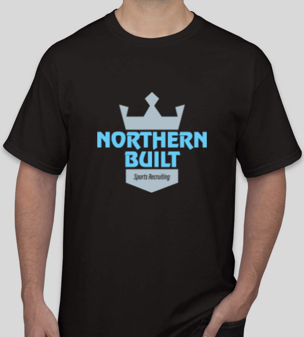 Northern Built Logo T - Black