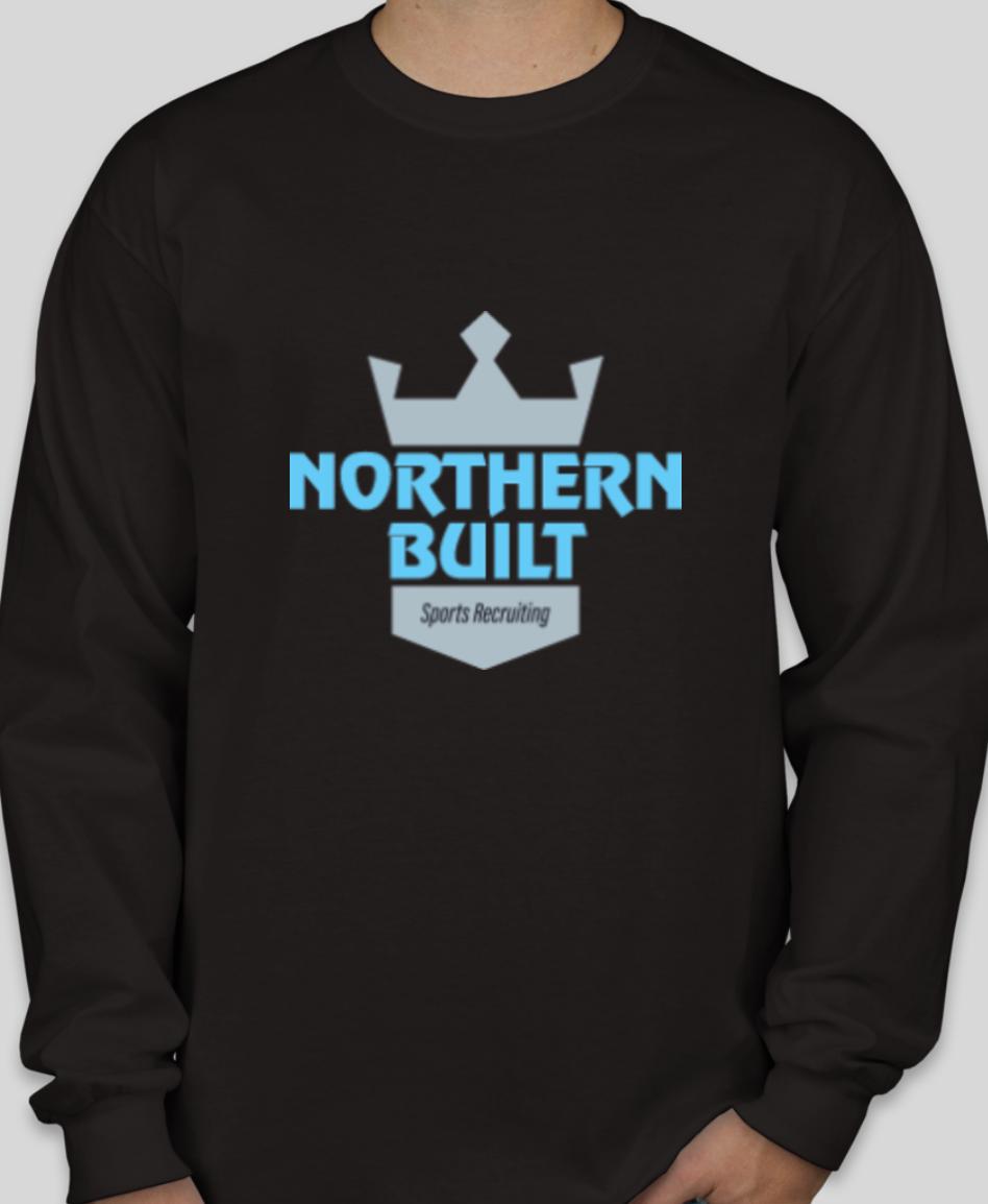 Northern Built Logo Long Sleeve - Black