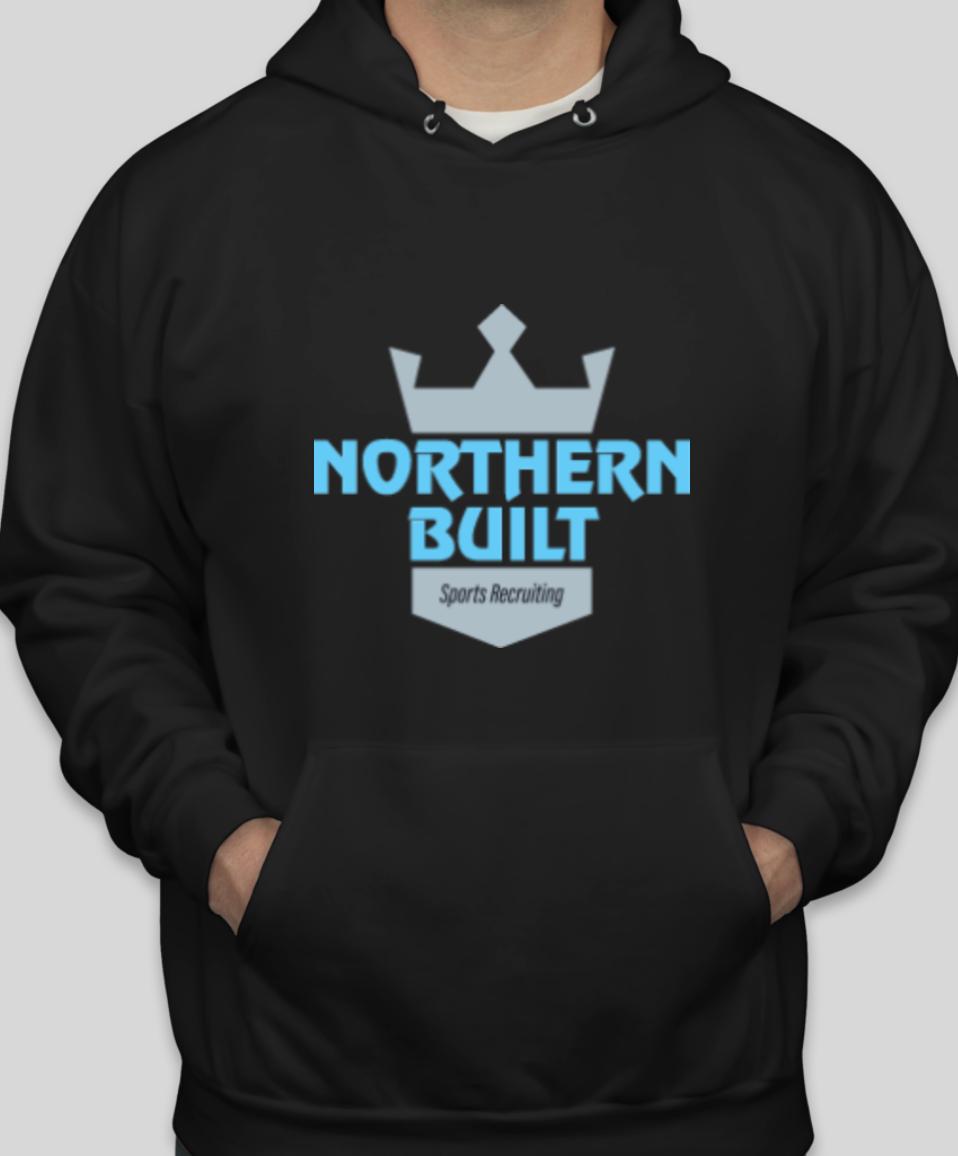 Northern Built Logo Hoodie - Black