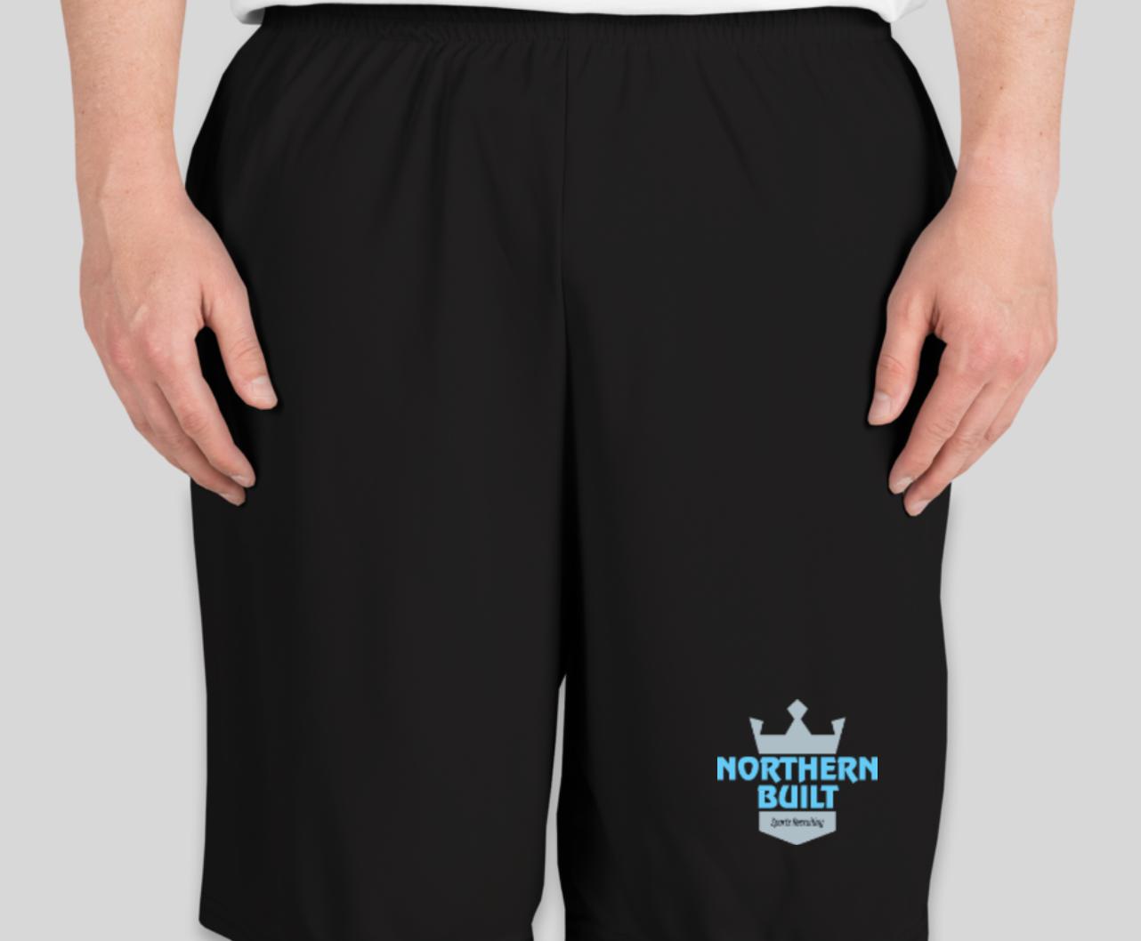 Northern Built Logo Short - Black
