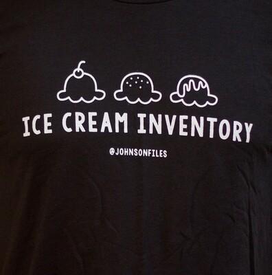 Ice Cream Inventory Shirt
