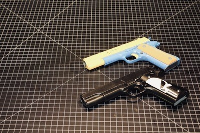Custom Punisher Gun Grips