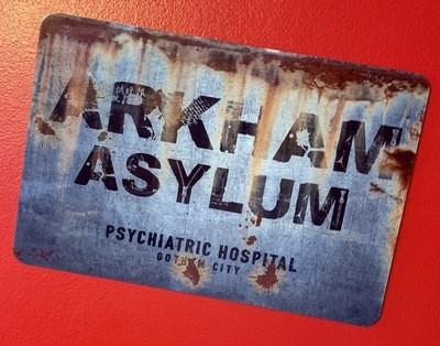 Arkham Asylum Batman Sign