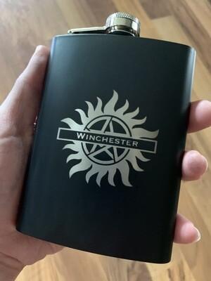 Custom Supernatural Flask