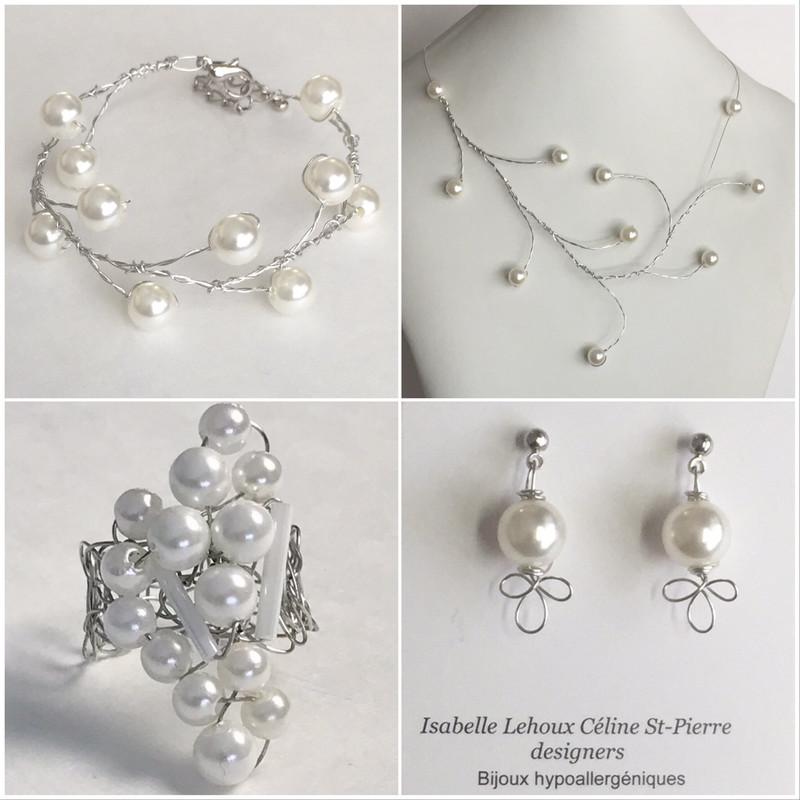 Ensemble Bijoux Perles Actuelles