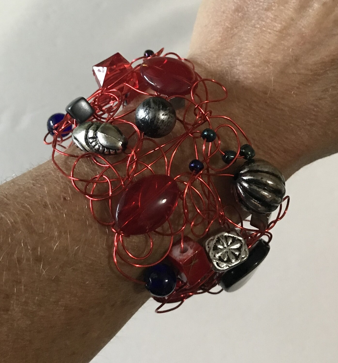 BRACELET ROYAL ROUGE PARTY