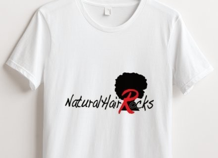 NATURAL HAIR ROCKS COTTON T-SHIRT