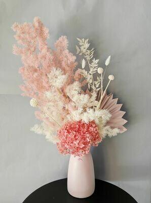 Strawberries & Cream Preserved Vase Arrangement