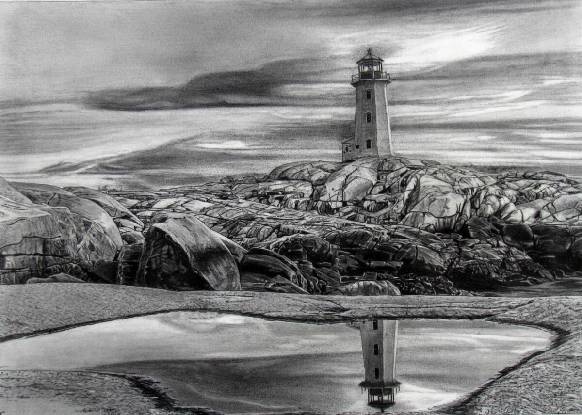 "Peggy's Cove | 11"" x 15"" | ART PRINT"