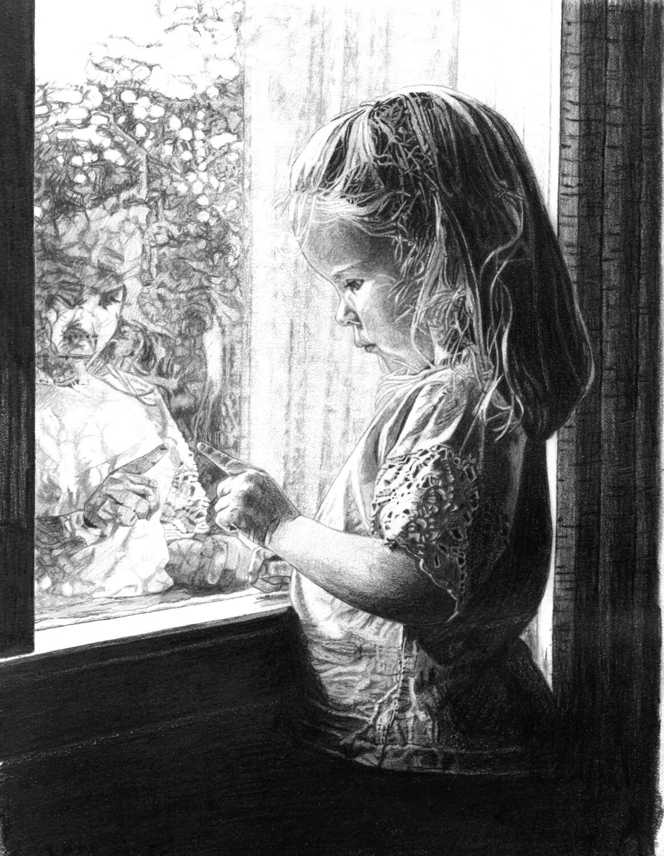 "Self Reflection | 8"" x 10"" | ART PRINT"