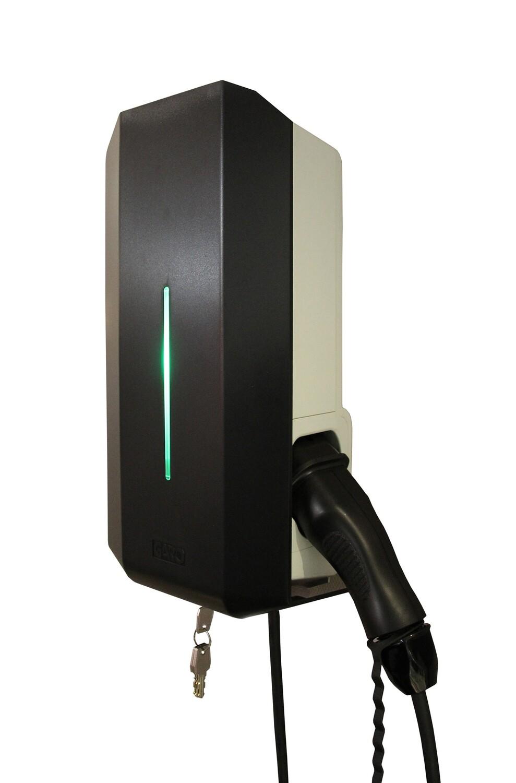Garo GLB 3-fas laddbox  11/22kW- fast kabel typ2