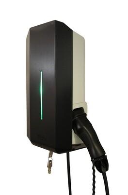 Garo GLB 1-fas laddbox 3,7kW - fast kabel typ2