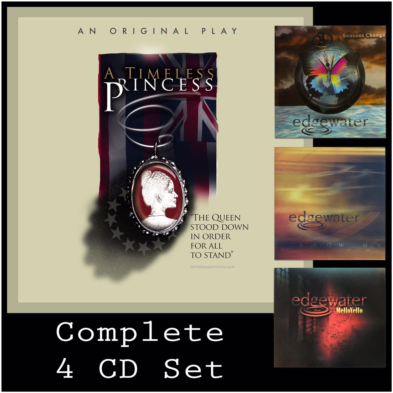 4 CD Set - A Timeless Princess, Season's Change, Show Me and Mello Yellow