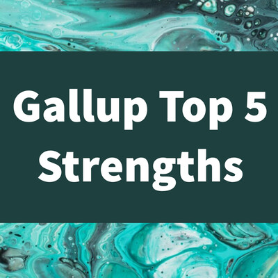 Gallup CliftonStrengths Top 5 Report