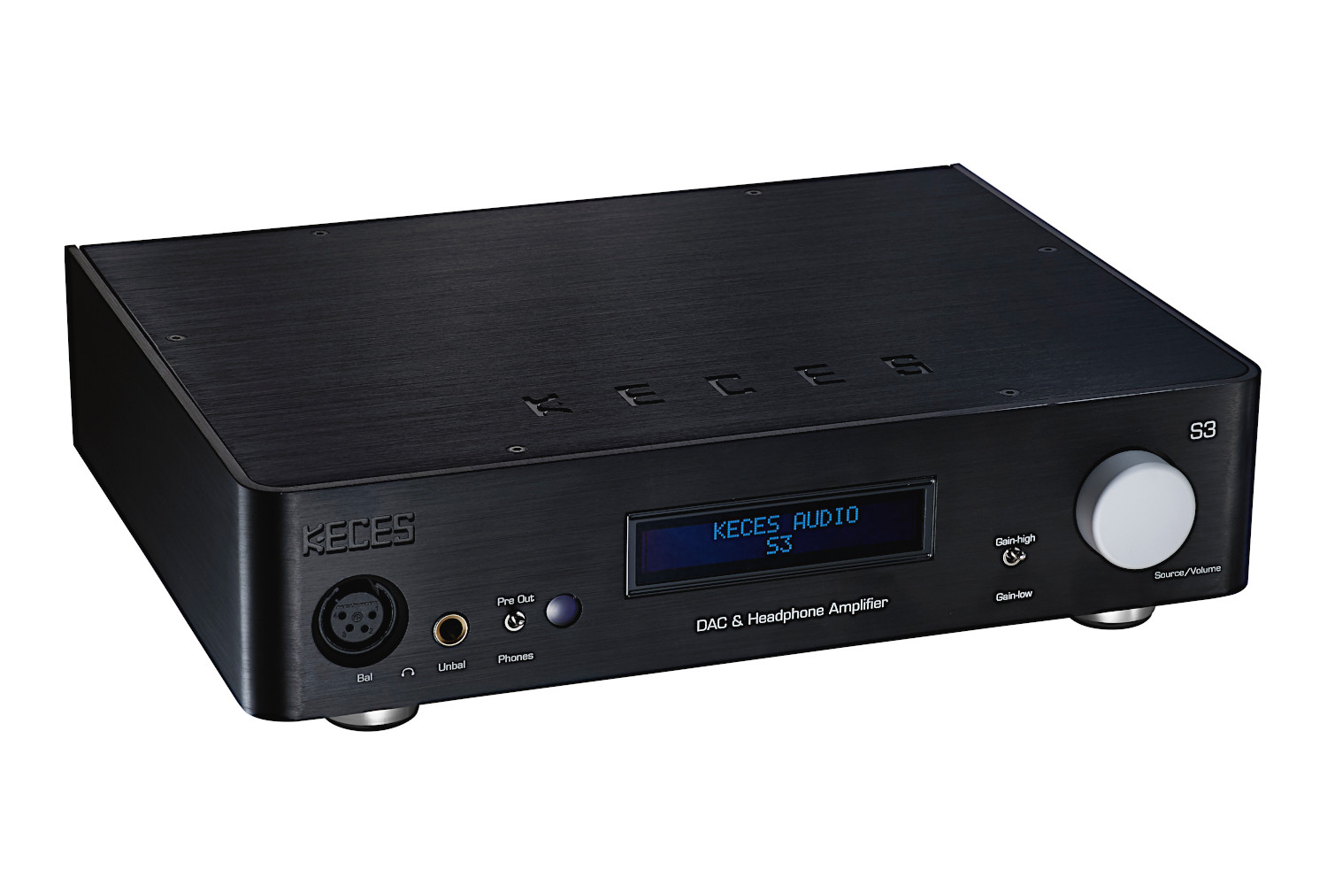 Keces S3 DAC Headphone Amplifier & Preamplifier