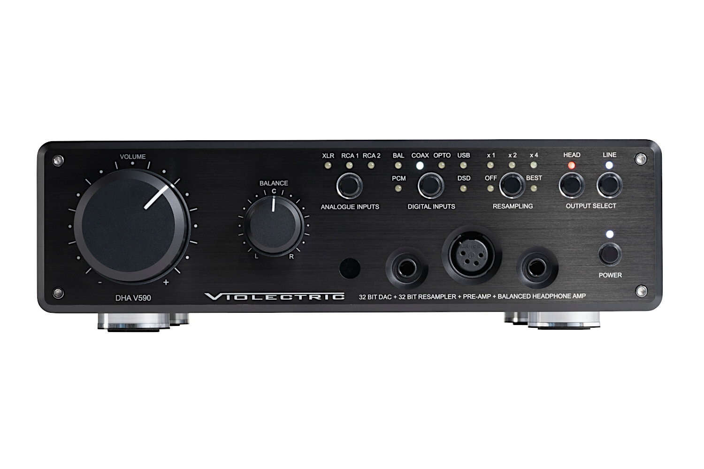 Violectric V590 Headphone Amp / DAC