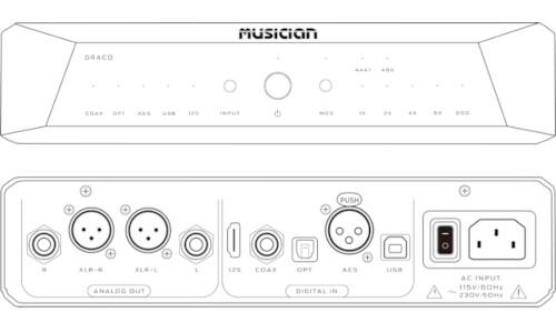 Musician Draco R2R Digital Audio Converter