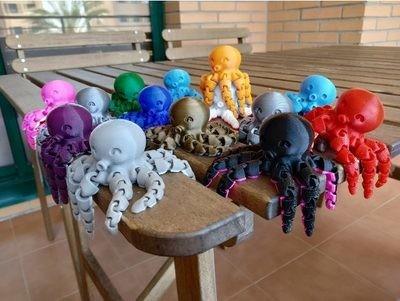 Mini Cute Octopus