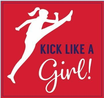 Kick Like A Girl Rose