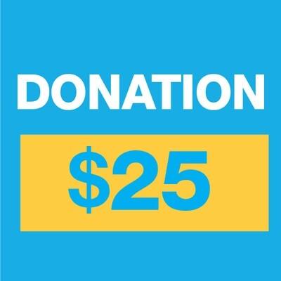 Donation $25