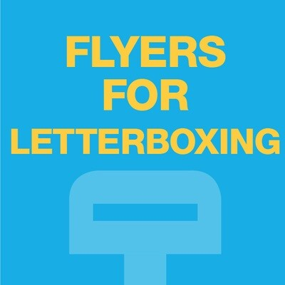 DWD Flyers for Letterboxing