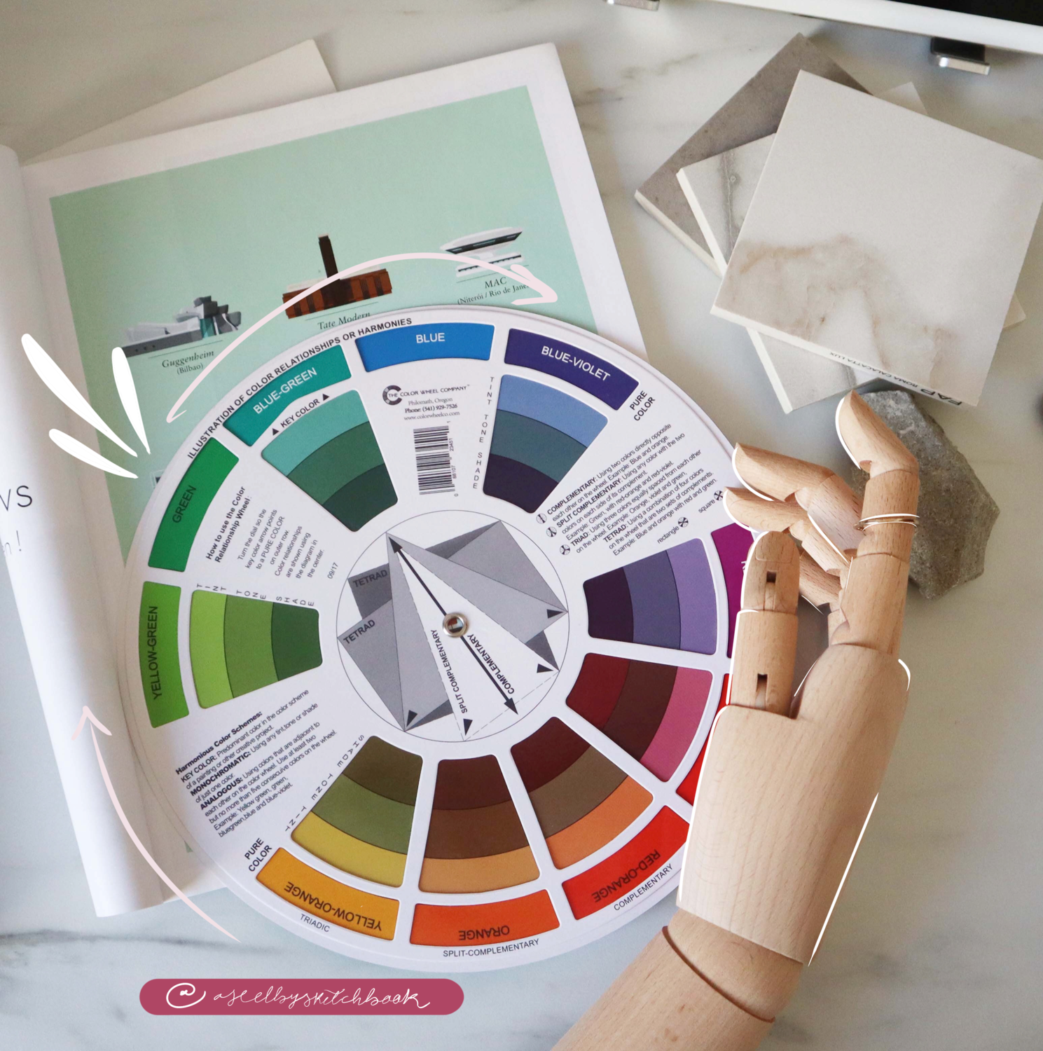 Large Color Wheel for Designers