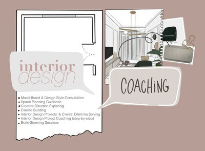 1 Hour of Interior Design Coaching (on Zoom)