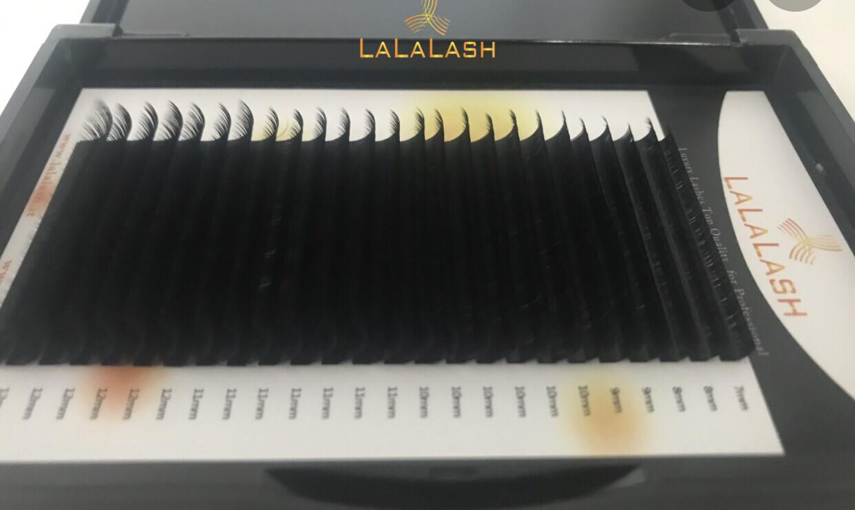 lalalash box NEW. Mink 005 /007/010 Ciglia per Tecnica 3D-6D CURL C/D