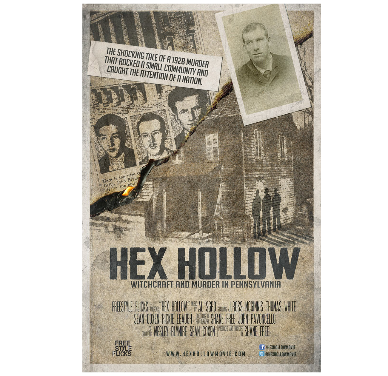 Hex Hollow 11x17 Poster