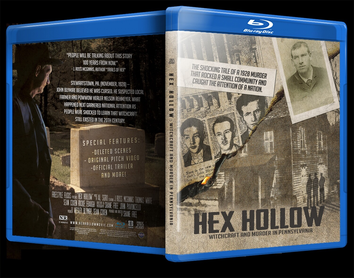 Hex Hollow Blu-Ray Disc
