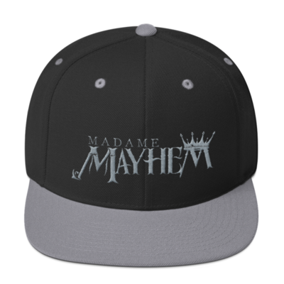 Blk/Gray Snapback Hat